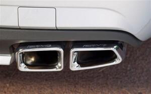 Глушители E63 AMG для Mercedes E-Class W212