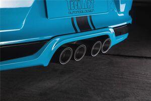 Выхлопная система Techart для Porsche 991