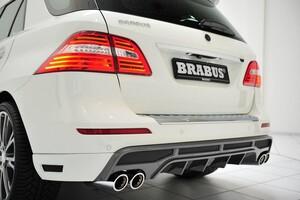 Глушитель Brabus для Mercedes GL500 ML500 W166/X166