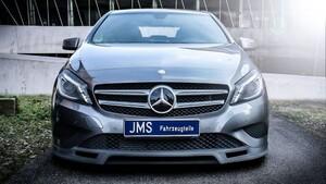 Накладка переднего бампера JMS для Mercedes A-Class W176