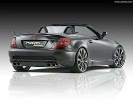 Задний бампер Performance RS Piecha Design для Mercedes SLK R171