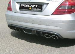 Диффузор заднего бампера Piecha Design для Mercedes SLK R171