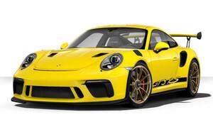Передний бампер GT3 RS Facelift для Porsche 991 GT3 RS