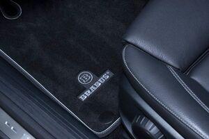 Велюровые коврики Brabus для Mercedes A-Class W177