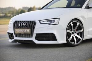 Передний бампер Rieger для Audi A5 B8 FL