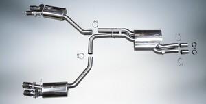 Выхлопная система ABT для Audi A4 A5