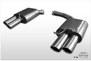 Глушители FOX для Audi A4 B8 1.8 TFSI