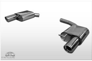 Глушители FOX для Audi S4 S5 B8